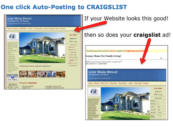 NEW Feature: Enhanced Craiglist Posting System for Single Property