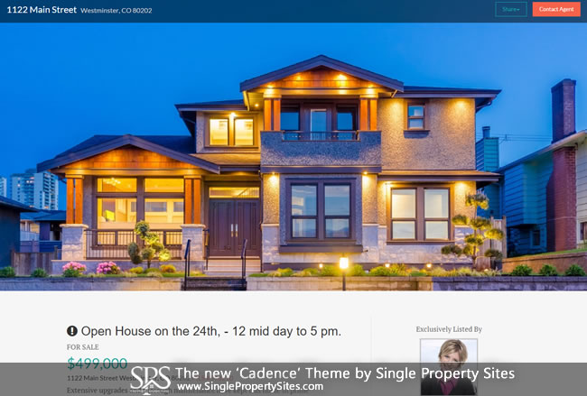 single-property-sites-cadence-responsive-theme